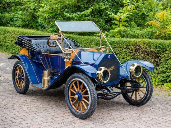 Buick 34 Roadster, 1912: Styrkeprovet, Ringsted, Danmark   Denmark, Veteranbilar   prewar / oldtimer cars [2015]<br>Lat: 55.386078N, Long: 11.795589E Copyright © All rights reserved. Kristian Adolfsson / www.adolfsson.photo