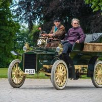 Cadillac Model C Tonneau, 1904: Styrkeprovet, Sørup Herregaard, Ringsted, Danmark | Denmark, Veteranbilar | prewar / oldtimer cars [2015]Lat: 55.386078N, Long: 11.795589E Copyright © All rights reserved. Kristian Adolfsson / www.adolfsson.photo