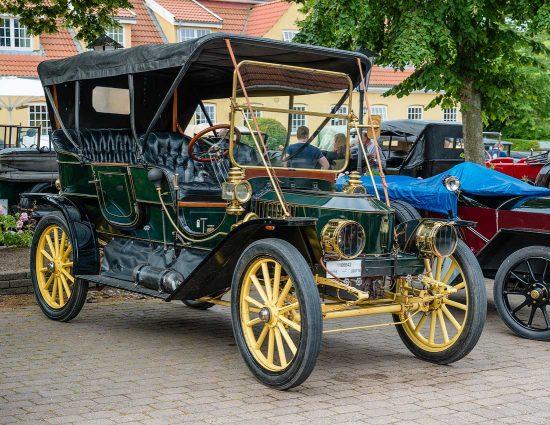 Stanley Model 70 Steamcar, 1910: Styrkeprovet, Ringsted, Danmark | Denmark, Veteranbilar | prewar / oldtimer cars [2015]<br>Lat: 55.386078N, Long: 11.795589E Copyright © All rights reserved. Kristian Adolfsson / www.adolfsson.photo