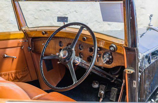 "Rolls-Royce 25/30 h.p. 3-position Drop Head Coupé DHC, 1937, Coachbuilder Freestone &#038; Webb, London, UK: Rolls-Royce Museum ""the World's Finest"", Dornbirn, Austria | Österreich [2018]<br>Lat: 47.391188N, Long: 9.776239E Copyright © All rights reserved. Kristian Adolfsson / www.adolfsson.photo"