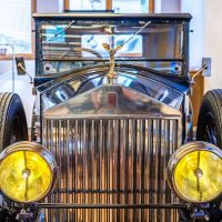 "Rolls-Royce Phantom I Fixed Head Coupé FHC, 1928, Coachbuilder Barker & Co: Rolls-Royce Museum ""the World's Finest"", Dornbirn, Austria 
